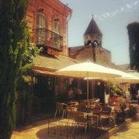 Photo taken at Café Gabriadze | კაფე გაბრიაძე by Ilya K. on 6/13/2013