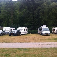 Photo taken at Camping Aumuhle Schweppenhausen by Esther D. on 6/29/2014