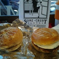 Photo taken at Some Crust Bakery by Jen L. on 10/28/2012