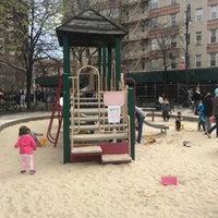 Photo taken at Bleecker Playground by Olivier N. on 4/15/2017