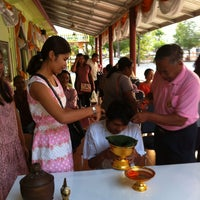 Photo taken at วัดประชุมโยธี อารามหลวง by Wannisa N. on 2/9/2015