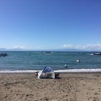 Photo taken at 荒井浜海水浴場 by Zome A. on 9/18/2017