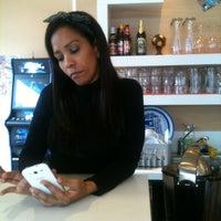 Photo taken at Twist caffe by Maribel R. on 1/9/2013