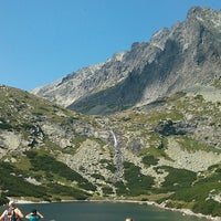 Photo taken at Velické pleso by Frank S. on 8/8/2013