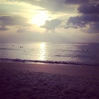 Photo taken at Karon Beach by -- on 12/26/2012