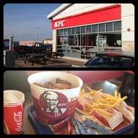 Photo taken at KFC by Larissa V. on 4/6/2013