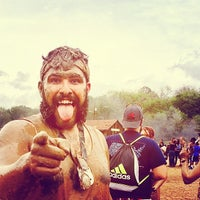 Photo taken at Warrior Dash Texas by Erick S. on 3/22/2014