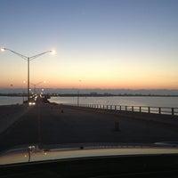 Photo taken at Eau Gallie Causeway by Erik H. on 3/29/2013