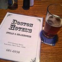 Photo taken at The Boston Hotel's Steak & Crabhouse by Matthew D. on 6/16/2013