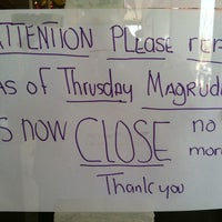 Photo taken at Magruder's Grocery Store by Salvador G. on 1/22/2013