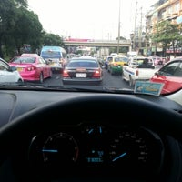 Photo taken at Lam Sali Intersection by Tha T. on 11/9/2012