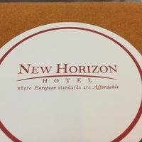 Photo taken at New Horizon Hotel by Chloe J. on 1/8/2013