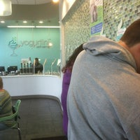 Photo taken at Yogurtini by Trent D. on 10/5/2012