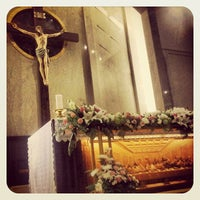 Photo taken at Gereja Katolik Santo Yakobus by Lukkie P. on 12/3/2012