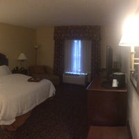Photo taken at Hampton Inn & Suites Mobile Downtown by Dwayne B. on 8/19/2015