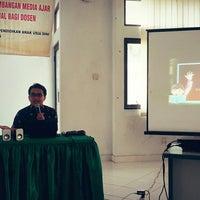 Photo taken at UPI Kampus Serang by Atep I. on 12/28/2015