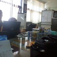 Photo taken at Kantor Jurusan Kurtekpend by Atep I. on 9/25/2012