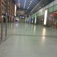 Photo taken at Innsbruck Hauptbahnhof by Rahul R. on 10/25/2012