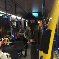 Photo taken at Bus 22 richting Houthavens by Martin H. on 1/11/2017