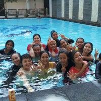 Photo taken at Laut Biru Resort Hotel by Rosiana K. on 9/13/2014