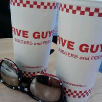Photo taken at Five Guys by Kimberly K. on 10/17/2012