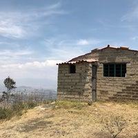 Photo taken at Volcán teuhtli by Brujo B. on 4/15/2017