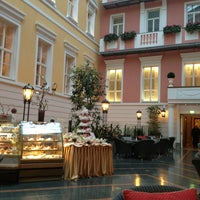 Photo taken at Belmond Grand Hotel Europe by Christina B. on 2/24/2013