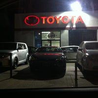 Photo taken at Star Toyota Of Bayside by Gee on 3/5/2013