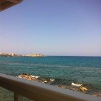Photo taken at Palmera Seaside Restaurant by Юрий Д. on 5/6/2013