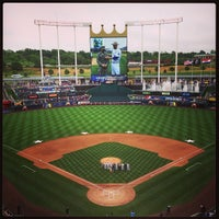 Photo taken at Kauffman Stadium by Chris C. on 5/27/2013
