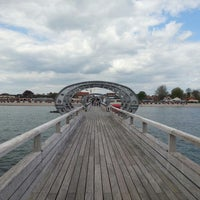 Photo taken at Seebrücke Kellenhusen by Christoph M. on 5/10/2013