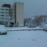 Foto tirada no(a) Студентски град por Follow M. em 11/20/2012