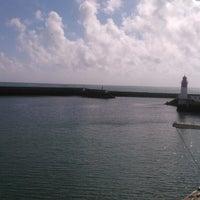 Photo taken at Port du Guilvinec by Floriane J. on 4/23/2014