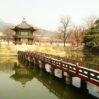 Photo taken at Gyeongbokgung by Aldwin John S. on 4/4/2013
