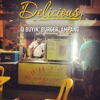 Photo taken at Buyin' Burger by Aiman D. on 1/5/2013