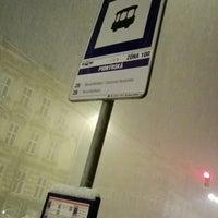 Photo taken at Pionýrská (tram, bus) by Aleš N. on 1/11/2017