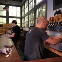 Photo taken at Trillium Brewing Company by Yuncheng P. on 6/21/2013