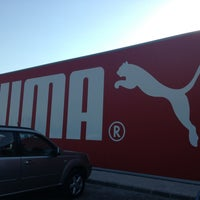 Photo taken at Puma Outlet by Karin B. on 8/21/2013