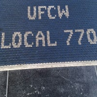 Photo taken at UFCW Local 770 by El Random H. on 2/9/2015