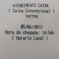 Photo taken at Banco do Brasil by Phelipe V. on 4/5/2013