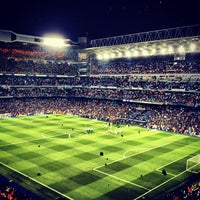 Photo taken at Santiago Bernabéu Stadium by Óscar G. on 4/30/2013