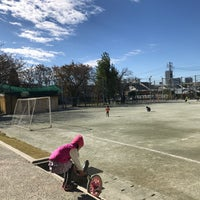 Photo taken at 世田谷区立 中町小学校 by Ryan T. on 11/12/2017