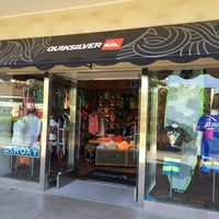 Photo taken at Quiksilver - Queens Market Place by Ryan T. on 6/5/2014