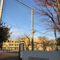 Photo taken at 世田谷区立 中町小学校 by Ryan T. on 12/10/2017