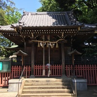 Photo taken at 中町天祖神社 by Ryan T. on 5/13/2016