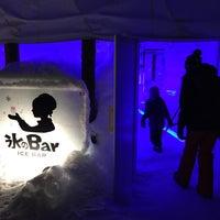 Photo taken at Ice Bar by Ryan T. on 2/23/2015