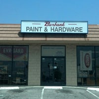 Photo taken at Burbank Paint And Hardware by Adam R. on 8/13/2013