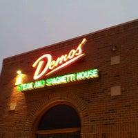 Photo taken at Demos' Restaurant by Lee Z. on 1/5/2013