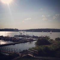 Photo taken at Rick's Cafe Boatyard by Ethan H. on 6/12/2013