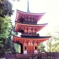 Photo taken at 霊山寺 by Yoshihide S. on 7/7/2013